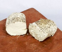 Garlic and Pepper Chèvre