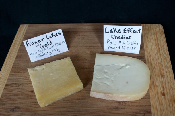 Lake Effect Cheddar and Finger Lakes Gold