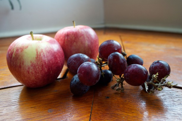 Lively Run Cheese Board fruit