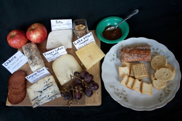 Lively Run Dairy Cheese Board