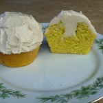 Chevre cupcakes