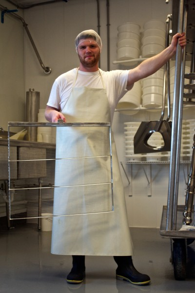Pete Messmer Cheesemaker Lively Run Dairy