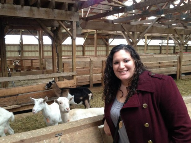 Kristina Stockburger at Lively Run Dairy