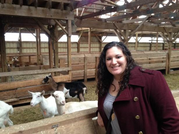 Kristina Stockburger at Lively Run Dairy