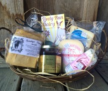 Cheeseboard Gift Basket