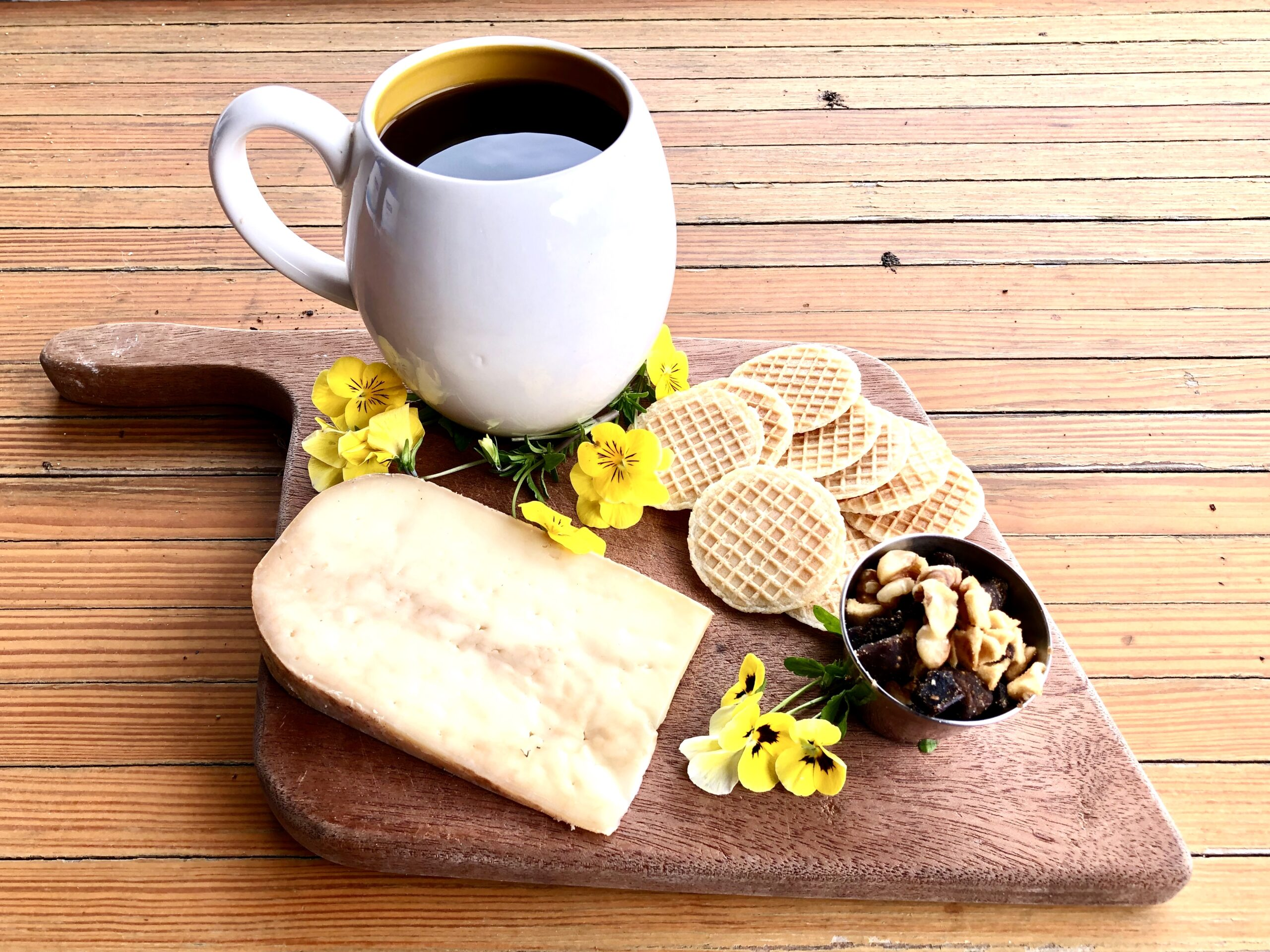 Gouda Morning! Limited Release Cow's Milk Coffee Cheese