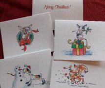 Goaty Christmas Cards
